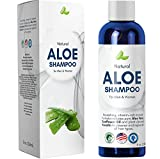 Aloe Vera Shampoo for Sensitive Scalp - Sulfate Free Shampoo for Dry Hair and Scalp Moisturizer for Dry Scalp with Keratin and Sunflower Oil for Soft Hair - Moisturizing Shampoo for Damaged Hair