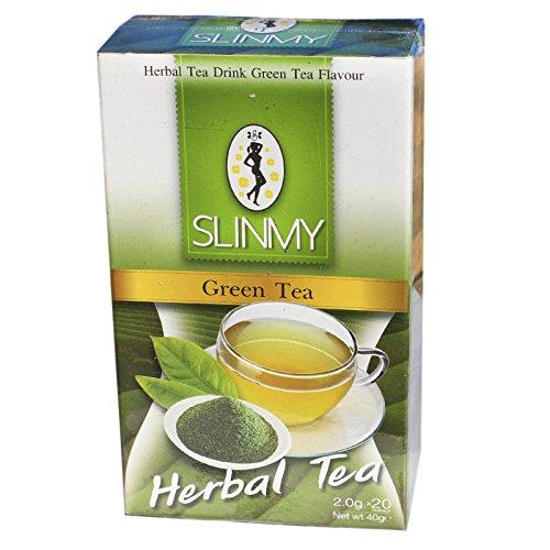 Slinmy Grüner Tee mit Kräuter 40g (20Btl)
