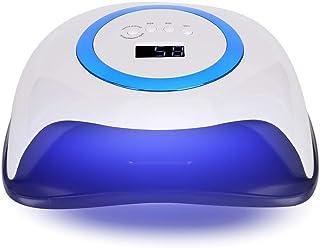 Secador de esmalte de uñas, 168W Máquina de curado de uñas inteligente LED UV Gel Lámpara de secador de esmalte de uñas con 42 luces Secador de uñas de gel de esmalte de uñas para salón(1#)