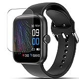 Vaxson 3 Stück Schutzfolie, kompatibel mit LIFEBEE NY17 1.54' Smartwatch Smart Watch, Displayschutzfolie TPU Folie [ nicht Panzerglas ]