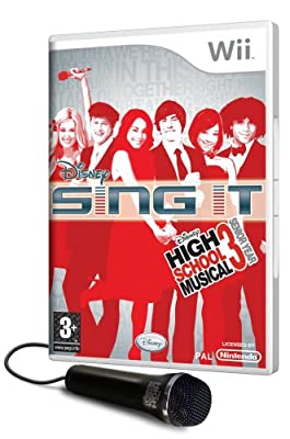 Disney Sing It: High School Musical 3 Senior Year with Microphone (Wii)