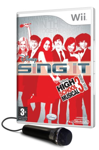Disney Sing It: High School Musical 3 Senior Year with Microphone (Wii) [Edizione: Regno Unito]