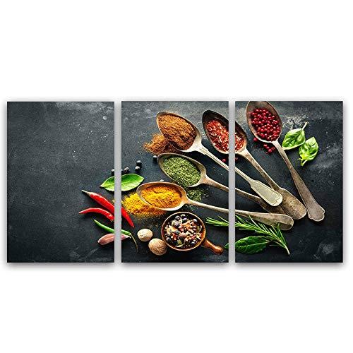 zxianc Stampa su Tela Wall Art Stampato su Tela Pittura per Sala da Pranzo Still Life Art Cucina...