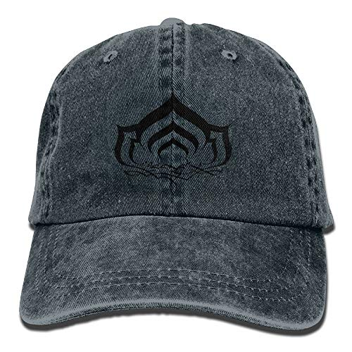 Hoswee Hombres Mujer Gorra Beisbol,Snapback Sombreros Warframe Plain Adjustable Cowboy Cap Denim Hat for Women and Men