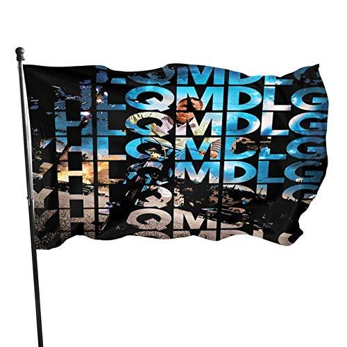 AOOEDM Bandera de Bad Bunny de 3 x 5 pies para decoración de banderas al aire libre de la casa del hogar