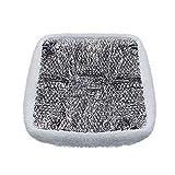 Camp'N Universal 14 x 14 RV Vent - Skylight Insulator, Insulation, Pillow, Shade with Reflective Heat Shield