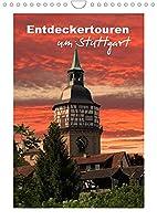 Entdeckertouren um Stuttgart (Wandkalender 2022 DIN A4 hoch): Zwoelf attraktive Ausflugsziele (Monatskalender, 14 Seiten )