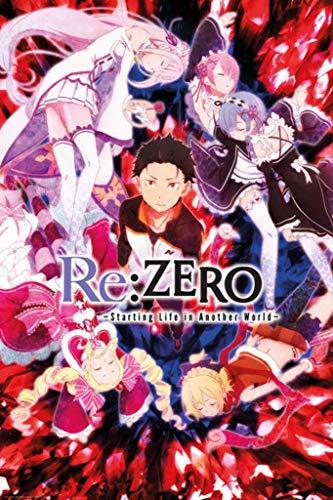 Re-Zero Anime Key Art Poster Maxi - 91.5 x 61cms (36 x 24 Inches)