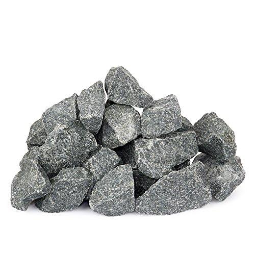 Finnische Saunasteine 20kg für elektrischen Saunaofen, kleine Fraktion 5-10cm, hohe Haltbarkeit, weicher Dampf