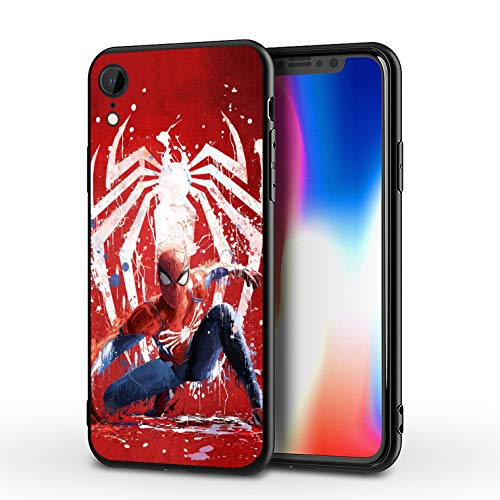 PUTEE Comics iPhone XR Case Full Body Protection Cover Cases (Spider-Man)