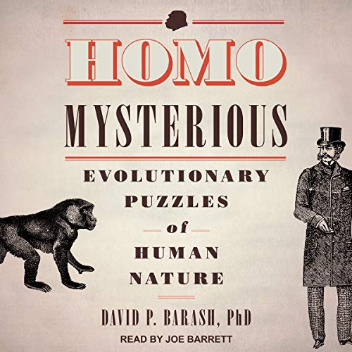 Homo Mysterious audiobook cover art
