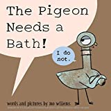 The Pigeon Needs a Bath! Mo Willems as part of our 1000 books for the summer goal