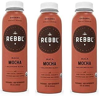 REBBL, Maca Mocha Elixir 12 oz (3 Pack)