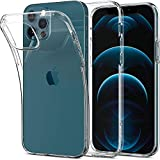 Spigen Cover Liquid Crystal Compatibile con iPhone 12 e Compatibile con iPhone 12 PRO - Trasparente
