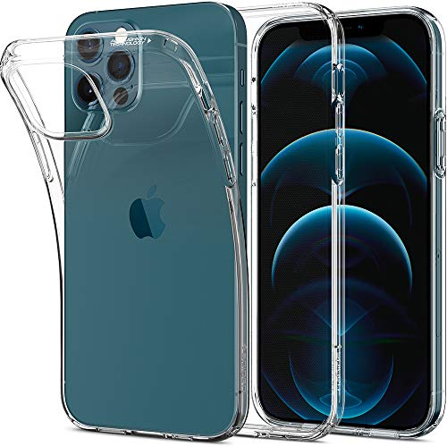 Spigen Liquid Crystal Back Cover Case Designed for iPhone 12 | iPhone 12 Pro - Crystal Clear