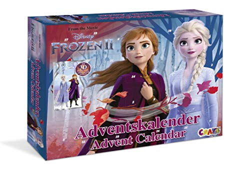 CRAZE Calendario de Adviento FROZEN 2 2019 Calendario de