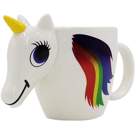 Unicorn Mug Rainbow Coffee Mug Drinking Cup Cocoa Cup Children Mug 350 ML