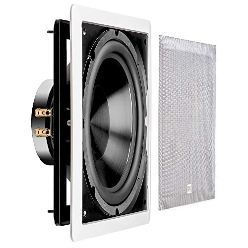 """OSD Audio 200W In-Wall Subwoofer Speaker– 10"""" Passive Sound System – IWS10"""