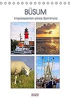 Buesum - Impressionen eines Sommers (Tischkalender 2022 DIN A5 hoch): Fotografien eines Sommers aus Buesum an der Nordsee. (Monatskalender, 14 Seiten )