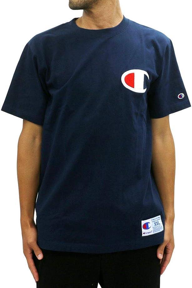 堂々たる瞑想する解決する[チャンピオン] Tシャツ ロゴ マーク 半袖 メンズ