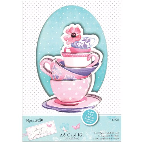 docrafts Papermania Lucy Cromwell A5 carte Kit-