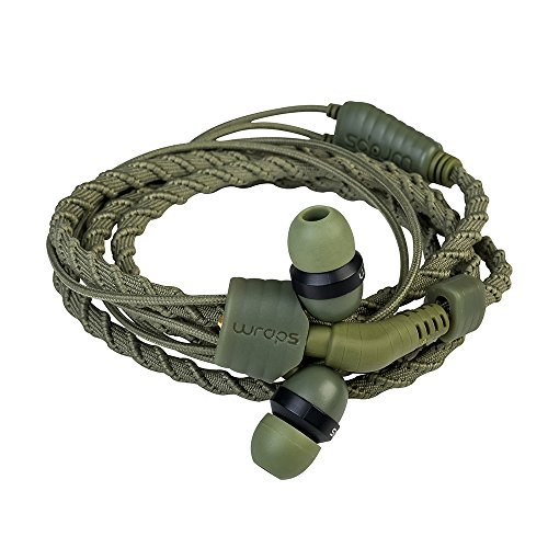 Wraps Wrapsccam-V15M Auricolare Braccialetto, Verde Militare