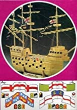 MATCH-CRAFT THE MARY ROSE matchstick kit - matchcraft model ship kit