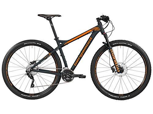 "Bergamont Revox LTD - Bicicleta de montaña (29"", modelo especial negro/naranja, talla M (170-176 cm)"