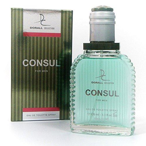 Consul 3.3oz. EDT Men Spray by Dorall Collection by Dorall Collection
