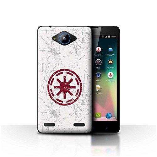 Hülle Für ZTE Blade L3 Plus Galaktisches Symbol Kunst Galaktische Republik Inspiriert Design Transparent Ultra Dünn Klar Hart Schutz Handyhülle Hülle