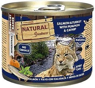 Natural Greatness Comida Húmeda para Gatos de Salmón y