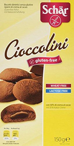 DR.SCHAR Cioccolini Galletas - 150 gr