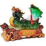 PiXiu/PiYao Kohl-Statuen, chinesische Feng Shui-Dekoration für Zuhause und Büro, zieht Reichtum und Glück an, tolles Geschenk zum Einzug