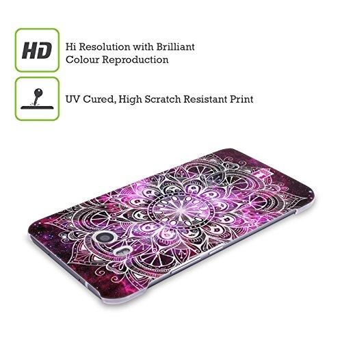 Head Case Designs Nebelfleck Mandala Doodle Harte Rueckseiten Handyhülle Hülle Huelle kompatibel mit HTC U Play/Alpine
