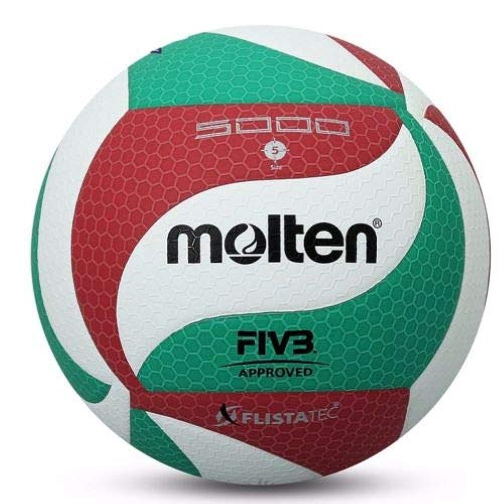 期待するゲーム美的ZoCenterShop(TM) 溶融公式#5バレーボールv5m5000ソフト屋内屋外ゲームPUレザーボール