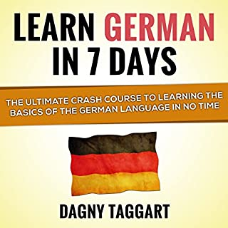 Learn German in 7 Days! audiobook cover art