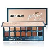Sombras de ojos Beauty Glzaed 14 Color Shimmer Glitter Eye Shadow Paleta de polvo Matt Eyeshadow Cosmético Maquillaje