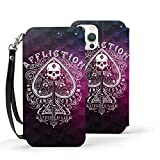 The Amity Affliction Compatible with Case for iPhone 12 Series Anti-Scratch Leather Flip Case Shockproof Cases Fashion Wallet Case Iphone12mini-5.4