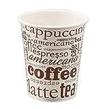 TELEVASO - 1000 uds - Vaso de cartón para café Vending - Capacidad...