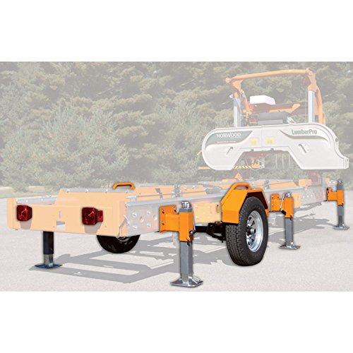 Norwood Trailer/Support Jack Package for LumberPro HD36