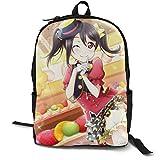 Love Live Yazawa Nico School Backpack Lightweight Bookbags Students Schoolbag Travel Daypack Laptop Bag For Kids Teens