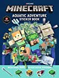 Minecraft Aquatic Adventure Sticker Book (Official Minecraft)