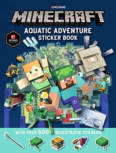 Minecraft Aquatic Adventure Sticker Book (Official Minecraft)