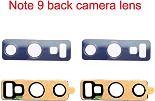 Afeax Back Rear Camera Glass Lens Replacement + Adhesive Preinstalled for Samsung Galaxy Note 9 N960 (Blue)