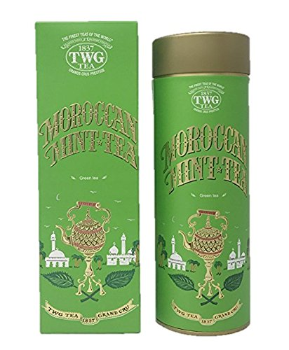 Moroccan Mint TWG Singapore Boite 100gr The Finest Teas of the World