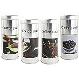 com-four Dosette à café 4X - boîte de Conservation pour dosettes à café - boîte...