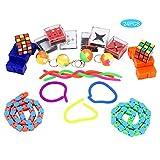 Juego de juguetes Fidget para aliviar el estrés, juguete para apretar la ansiedad para niños y adolescentes, juego divertido, juguete de terapia sensorial manual para el autismo ( Color : 22 IN 1 )