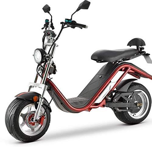 DAYI Citycoco - Patinete eléctrico deportivo (3000 W, EEC/COC)
