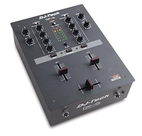 Dif-1S - Scratch DJ MIXER de 2 canales con innoFader integrado