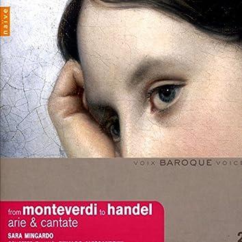 From Monteverdi to Haendel (Arie, Madrigali e Cantate)